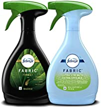 Febreze Odor-eliminating Fabric Refresher Forest and Extra Strength Botanical Breeze, 27 Oz. Spray, 2 Count