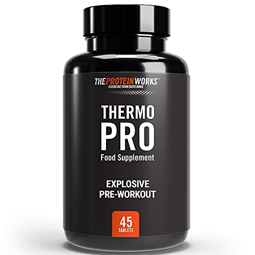 THE PROTEIN WORKS Thermopro Tablets | Preworkout Supplement with Caffeine |...