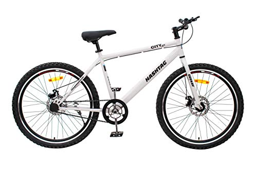 Geekay Hashtag 26 t Single Speed Steel Mountain Bicycle 26 Inch wheel...