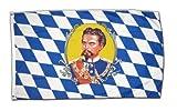 Flagge Deutschland Bayern König Ludwig - 60 x 90 cm