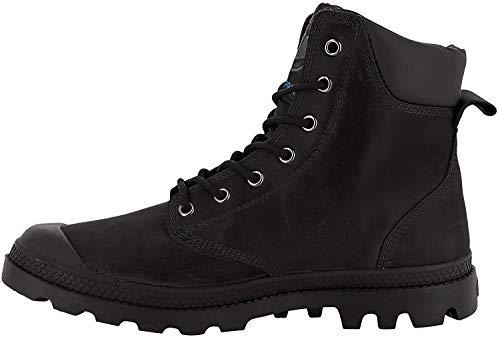 Palladium Pampa Sport Cuff Leather Waterproof, Unisex-Erwachsene, Klassische Stiefel, Schwarz Black 466, 39 EU