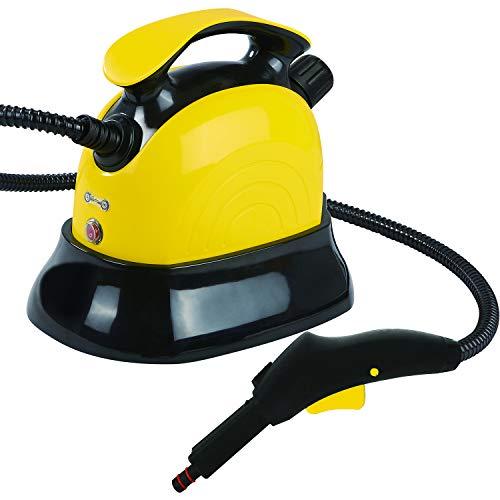 MovilCom® - Limpiador Vapor | Vaporeta Limpieza hogar | Máquina De Limpieza Vapor Alta presión 4 Bares - 1500W | Desinfección, Esterilización, Ácaros