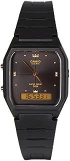 Casio Mens Quartz Watch, Analog-Digital Display and Resin Strap AW-48HE-1AVDF
