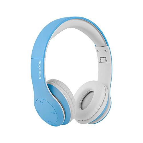 Krüger&Matz koptelefoon voor kinderen Street Kids, Bluetooth, blauw
