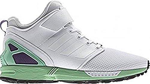 adidas ZX Flux W, Zapatillas de Gimnasia Mujer, Blanco (FTWR White/FTWR White/FTWR White), 42 EU