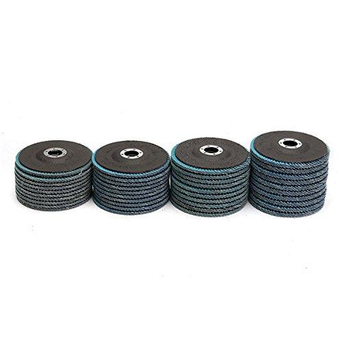 150# 1000# Papiers Sand Sand 10 Pcs 125mm Forme Ronde Rouge Disques /À Sabler 8 Trou 60#