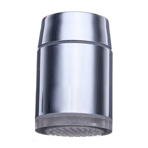Bluelover 7 Farbdisplay Verändernden LED Wasserhahn Farbwechsel Wasser WasserhahnLicht Silber - 6