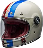 BELL Helmet bullitt dlx command vintage white/red/blue m