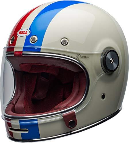 BELL Helmet bullitt dlx command vintage white/red/blue m