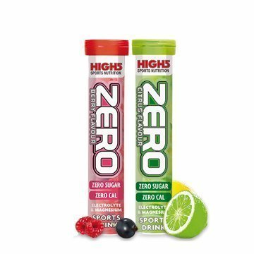 High5 Zero Electrolyte Sports Drink Tube of 20 tabs -Berry Flavour (Pack of 2)