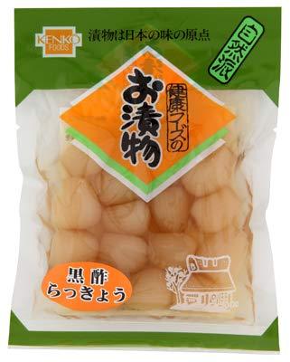 健康フーズの黒酢らっきょう (90g×60個入)×1ケース JAN: 4973044024003