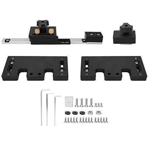LANTRO JS - Soporte para valla de sierra de mesa, valla de sierra de mesa procesada por CNC, Soporte principal para sierra circular eléctrica/soporte auxiliar