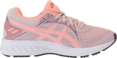 ASICS Kid's Jolt 2 PS Running Shoes, 2.5M, Watershed Rose/Sun Coral