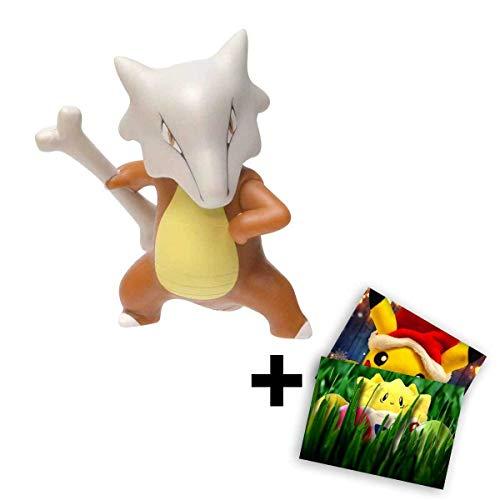 Lively Moments Pokemon Battle Pack Knogga Sammelfigur / Actionfigur / Spielfigur + Exklusive GRATIS Grußkarte