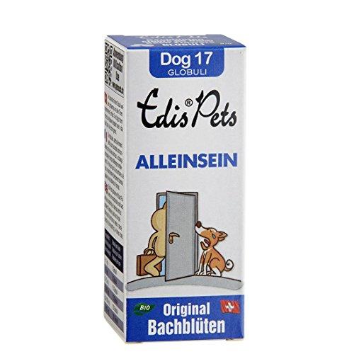 Sunasar Edis Pets Dog Nr. 17 Alleinsein Bio Bachblüten Globuli 20 g, 1er Pack (1 x 20 g)