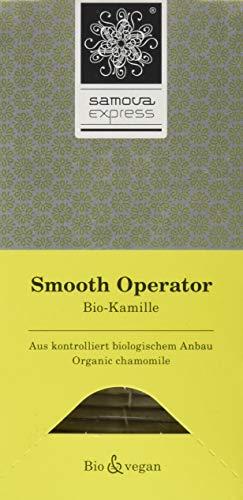 Samova Smooth Operator Express - Bio-Kamille (20 aufgussbeutel 1,3g), 1er Pack (1 x 26 g)