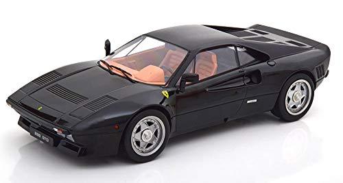 KK Escala KKDC180412 - Ferrari 288 GTO 1984 Black - Escala 1/18 - Modelo Coleccionable