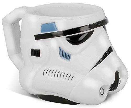 Elemed 82486 3D PS Becher Stormtrooper (Star Wars) geformt, mehrfarbig