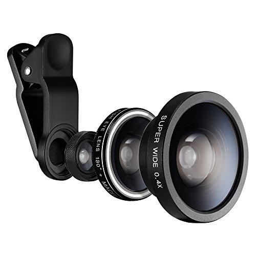 Lente Para Camera Smartphone 3 em 1 Spigen Capa Anti-Impacto Transparente