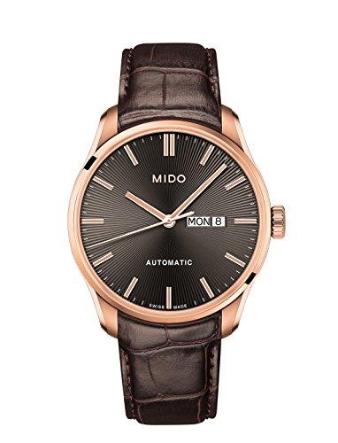 Mido M024.630.36.061.00 - Orologio da uomo analogico automatico con cinturino in pelle