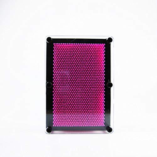 Escultura de Arte en 3D Pin de plástico Molde para la Mano Pin 3D Clone Pin Huellas Digitales Pin Tridimensional A Novedad clásica Retro Juguete Divertido Gadget Regalo 9.5 * 3.5 * 12.5CM Rosado