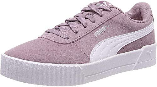 Puma Damen Carina Sneaker, violett (Elderberry-Puma White-Puma Silver), 38 EU