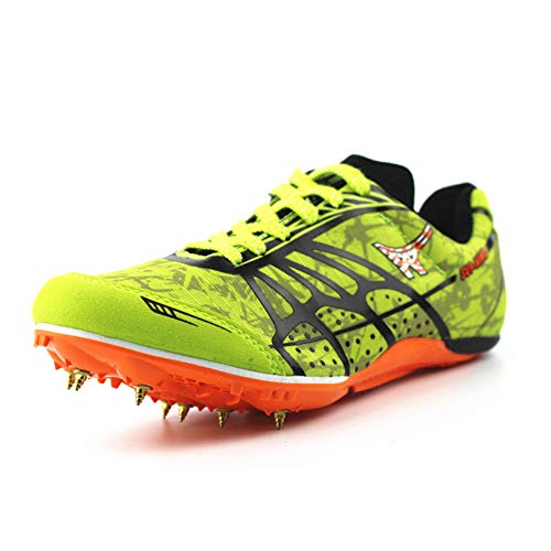 Willsky Zapatos De Atletismo para Hombres, Clavos para Correr Livianos Clavos para Sprint...