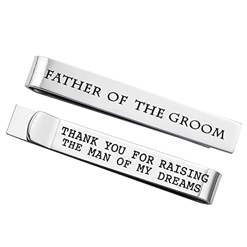 Father of the Groom Tie Clip