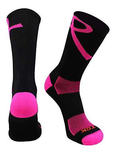 Calcetines de cinta rosa