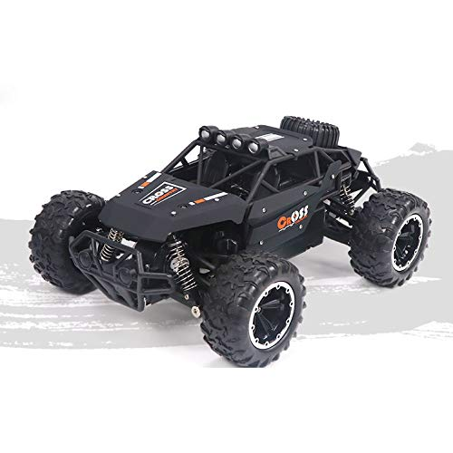yanzz Coche Teledirigido, 1:16 RC Car 4WD Offroad Racing Car 15.5MPH High Speed 2. 4GHz Vehículo eléctrico controlado por Radio Rock Crawler Buggy Monster Truck para niños Adultos
