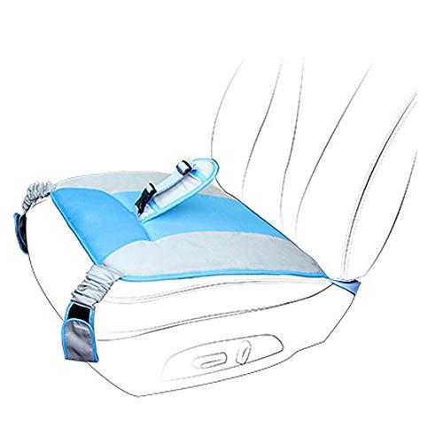 Zacht Ademend Verstelbare Zwangerschapsgordel Autobescherming Kussenhoes Pad Autogordel Kussen voor Zwangere Vrouwen Blauw