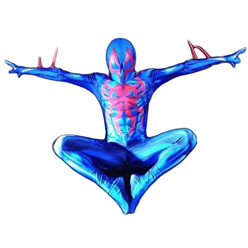 Vêtements Pour Hommes Superhero Spiderman One-Piece Collants Spiderman Par Intérim Costume Lycra Spandex élastique Cosplay Halloween Rôle Par Intérim Costume Bodysuit-M