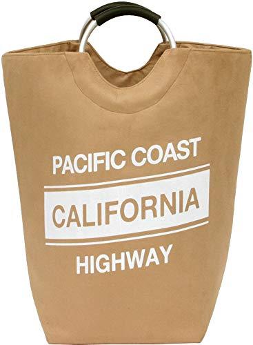 大橋新治商店 ランドリーバッグ カリフォルニア ライム 40×40×57cm 洗濯物入れ