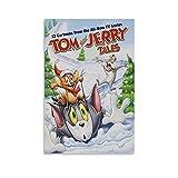 GAOZI Tom und Jerry Märchen-Poster, dekoratives Gemälde,