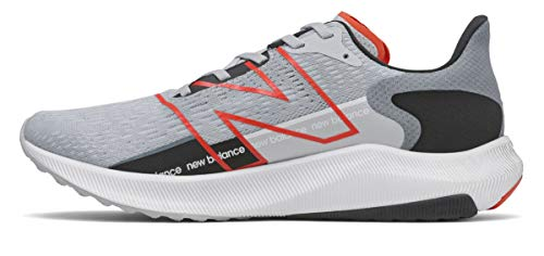 New Balance Mens FuelCell Propel V2 Running Shoe Light CycloneGhost PepperBlack 10 Wide