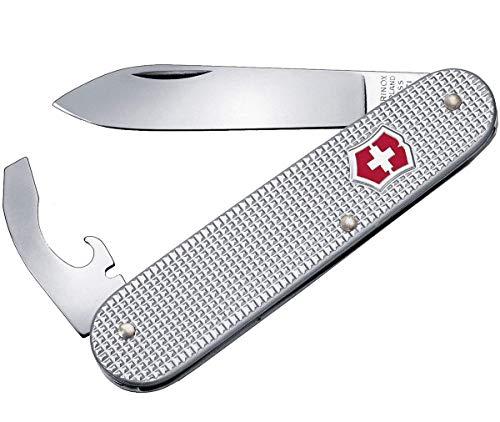 Victorinox Alox Taschenmesser (5 Funktionen, Klinge, Schraubendreher) silber