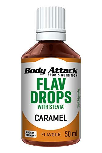 Body Attack Flav Drops Stevia (Caramel)