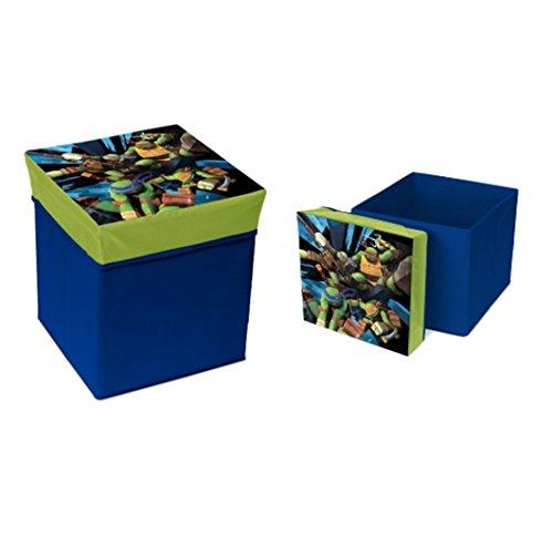 TMNT Spielzeugkiste - Aufbewahrungsbox - Sitzhocker