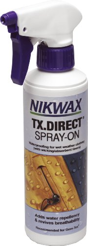 Nikwax Tx . Direct - Spray de impermeabilización, 0.3 L, transparente