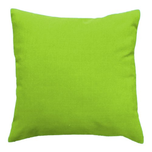 Water Resistant Outdoor Foam Crumb Filled 18' Cushion in Lime Green