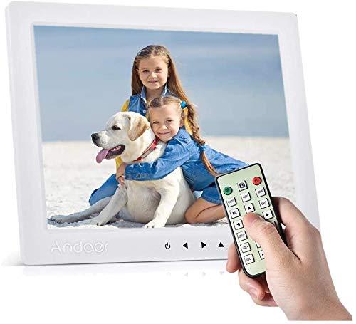 classement un comparer Andoer 10 pouces HD Digital Photo Frame Album Photo Regarder la vidéo 1080P MP4 MP3 Audio…