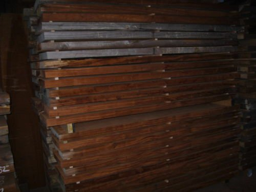 Kantel Sapeli Mahagoni 100 x 15 x 5 cm Tonholz 15 Jahre Body Neck Bohle Planke