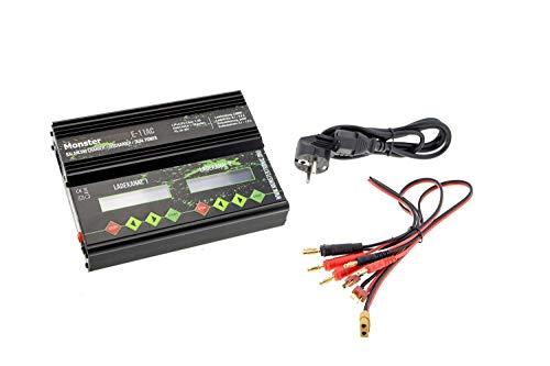 Unbekannt Monstertronic Dual Power Balancer+Ladegerät Netzteil E-11AC Duo 2X 1s-6s LiPo/NiMh Akku l