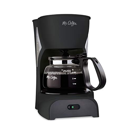 Mr. Coffee Simple Brew Coffee Maker|4 Cup...