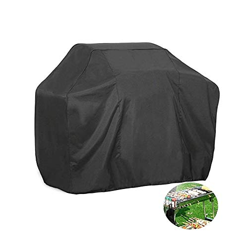 MAGFYLY Barbecue Grill Cover Buiten Buiten Grill Beschermhoes, Waterdichte Ketel Stijl Barbecue Grill Cover Outdoor Ronde Patio Grill Cover met Trekkoord