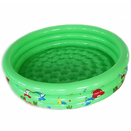 Fanuosuwr Piscina Infantil al Aire Libre Piscina Inflable para niños Piscina Cubierta Piscina y Equipo de Agua Uso de Múltiples Escenas (Color : Verde, Size : 150x25cm)