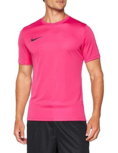 Nike Herren Jersey Man Ss Park Vi Hemd Mit Kurzen Ärmeln, Weiß Schwarz, 2XL