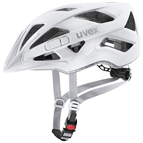 uvex Unisex– Erwachsene Touring cc Fahrradhelm, white mat, 52-57 cm