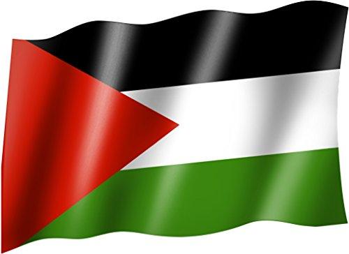 Flagge/Fahne PALÄSTINA Staatsflagge/Landesflagge/Hissflagge mit Ösen 150x90 cm, sehr gute Qualität