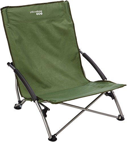 Campingstuhl Low Profile Seat Colour: Green